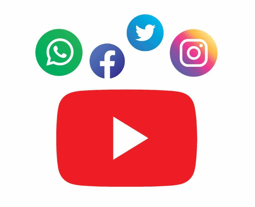 promote youtube videos on other social media platforms
