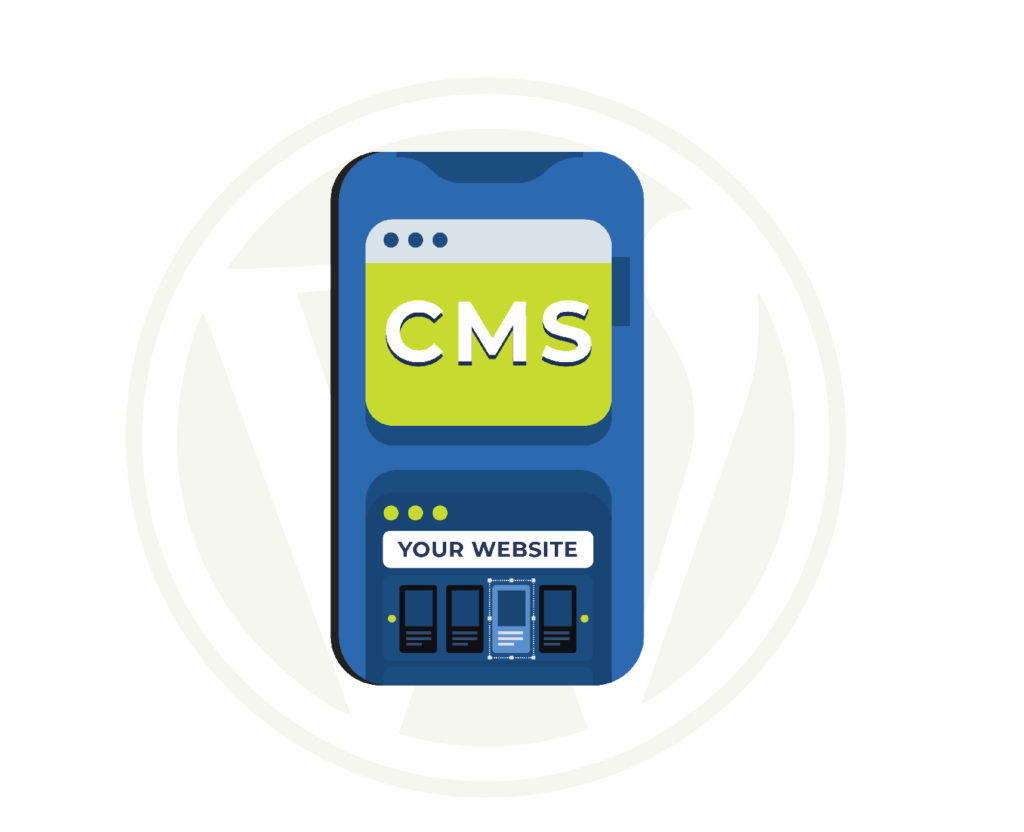 build a website with cms