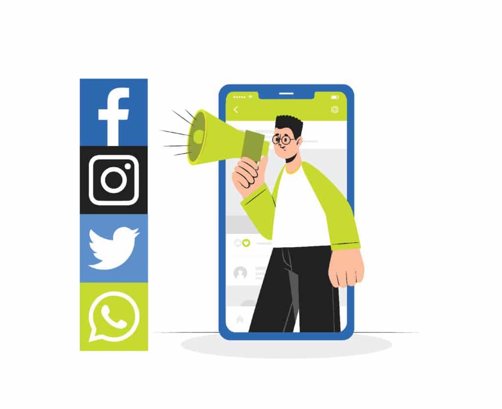 promote through social media