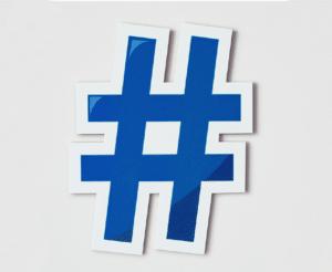 create branded hashtags